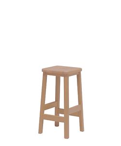 dřevěná stolička Taburetka