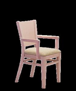 křeslo čalouněné Arol P AL, český výrobce židlí a stolů Sádlík