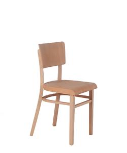 Židle z masivního buku, klasická židle vhodná do kavárny, restaurace i kuchyně, Sádlík, český výrobce nábytku