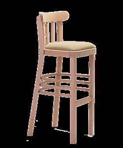 čalouněná barová židle Marconi Bar P, český výrobce nábytku Sádlík