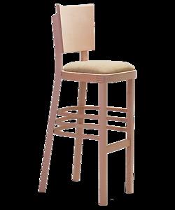 čalouněná barová židle Linetta Bar P, český výrobce nábytku Sádlík