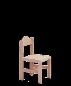 dětská dřevěná židle Ladík krempa, vybavení pro školky, školy, dětská centra, český výrobce nábytku Sádlík