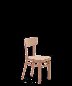 dětská dřevěná židlička Nico kinder, vybavení školky, školy, školní družiny, český výrobek od Sádlíka