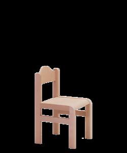 dětská židle do mateřské školy, jeslí, školní družiny, Tom krempa, židle vyrobená v Česku