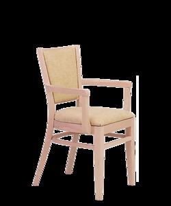 čalouněné křeslo Arisu P AL SRP, český výrobce luxusních židlí Sádlík. Židle, křesla, stoly pro gastronomii, gastronábytek, vybavení restaurací, hotelů, penzionů, české židle