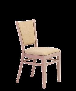 designové jídelní křeslo Arisu P SRP, čalouněné křeslo Arisu P AL SRP, český výrobce židlí Sádlík. Židle pro náročné zákazníky, vybavení kostela, židle do kostela, modlitebny, židle s poličkou.