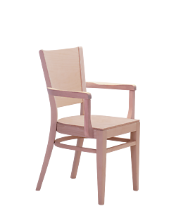 židle s područkami Arol AL, židle od českého výrobce Sádlík