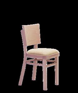 čalouněné jídelní židle Linetta P, od českého výrobce ohýbaného nábytku, Sádlík, Moravský Písek. Nábytek do restaurace na míru.