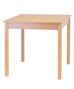 jídelní stůl Karpov, pevný stůl z lamina, český výrobce židlí a stolů Sádlík