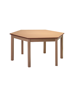 dětský stůl laminovaný Karpov DS šestihran, Sádlík český výrobce nábytku, výrobce nábytku pro mateřské školy, školky, jesle, dětské herny, družiny