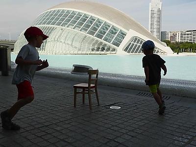 Židle pro život ve Valencii